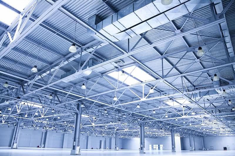 Промышленное освещение в Твери, освещение цехов и складских ...